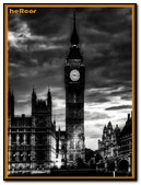London Wallpaper Black And White