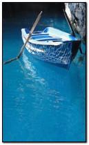 青いボート