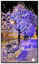 Zimowy śnieg