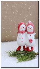 Snowman lucu