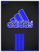 Azul Logo Adidas