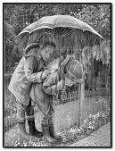 rain with children