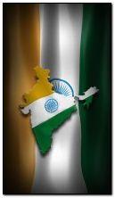 Das große Emblem und die Flagge