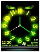 Cat Eye Clock