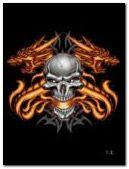 Hareketli Skull'n Fire Dragon