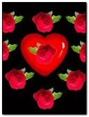 animated rose hearts