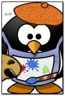 окрашивающий пингвин