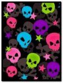 Animated Skulls and Stars