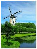 Wind mill animated