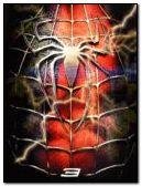 spiderman blood