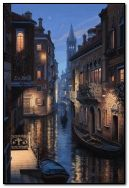 Satu petang di Venice