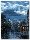 Дощ в нічному місті