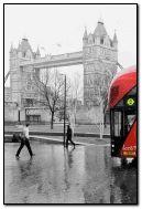 Un jour de pluie à Londres