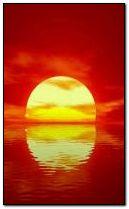 Beautyful sunset 240x400
