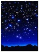 blue star sky