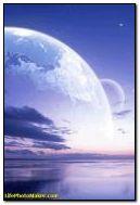 Nuit bleue lune