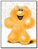 yellow jelly bear