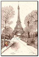 पॅरिसमध्ये पाऊस