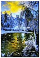 Beautiful winter wiev