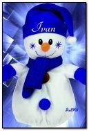 Manusia salju yang lucu untuk Ivan