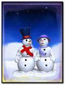 Snowmen love