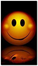 Gülümseme balonu sarı