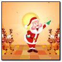 Enjoying Santa