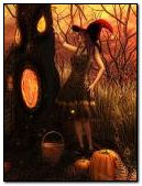 Dame d'Halloween