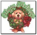 小狗圣诞节