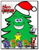funny xmas tree