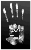 dont touch 240x400