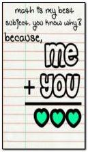 حب ؟ الرياضيات