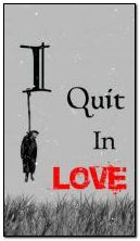 quit in.