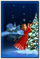 Boże Narodzenie anioł