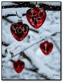 Red hearts (i love you)