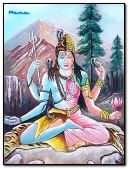 Lord Shiv & Goddess Shakti (as Sati & Parvati)