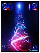 Neon Christmas Tree.