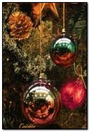 Christmas Tree Balls And Lights