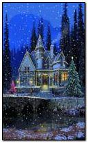 domek bożonarodzeniowy