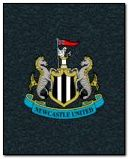 NUFC Spinning Badge + Background