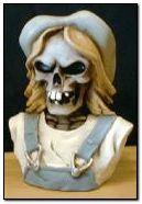 skull hill billy bust