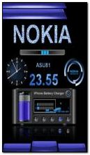 NOKIA BATTERY CLOCK
