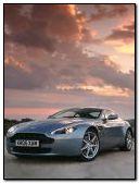 Aston Martin glowing lights