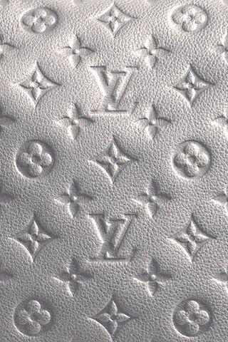 Lv Monogram Silver