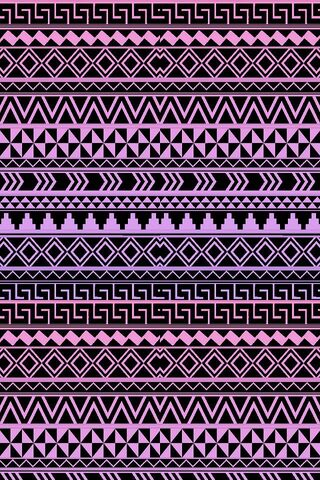 Purple Tribal