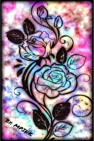 Rainbow Flowery