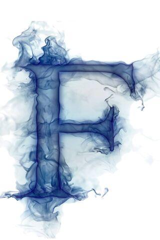 Smoke Letter F
