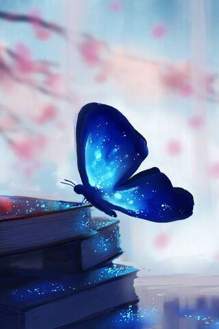Buku dan Kupu-Kupu