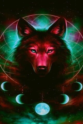 Red Wolf Moons