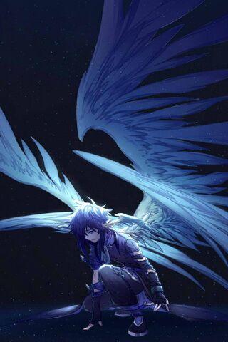 एनीमे पंख